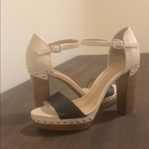 Antonio Melani color block heels